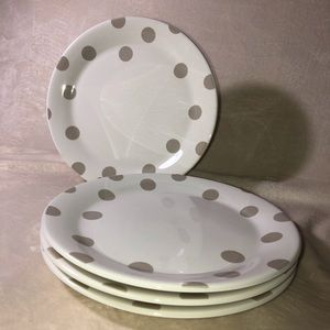 Kate Spade Set of 4 Dinner Plates